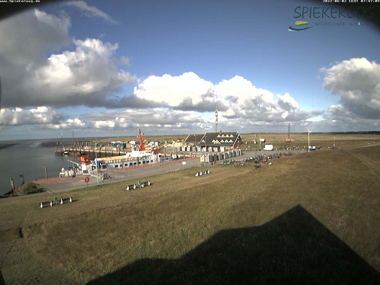 Webcam Hafen Spiekeroog